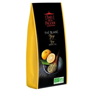 Thé blanc bio au yuzu - sachet de 100 g 413993