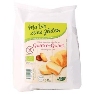 Mix quatre quart sans gluten en sachet de 300 g 415146