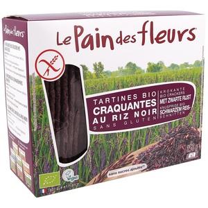 Tartines craquantes au riz noir bio en sachet de 150 g 415394