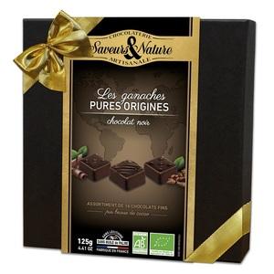 Coffret chocolat pures origines en coffret de 125 g 415853