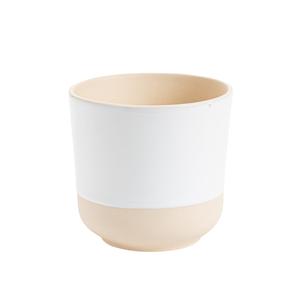 Cache-pot Sandstone Ø 16 x H 16 cm Grès 416035