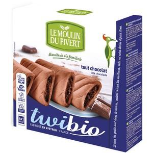 Twibio tout chocolat bio LE MOULIN DU PIVERT 150 g 416114
