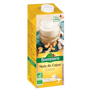 Boisson noix de cajou et coco en brique de 1 litre 416129