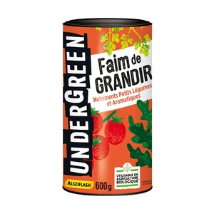 Engrais faim de grandir pour légumes aromatiques en boite de 600 g 416315