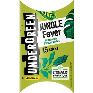 Engrais jungle fever pour plantes vertes en stick x 15 416318