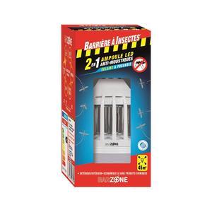 Ampoule led E27 anti moustiques Ø 8 x h 16,5 cm 416329