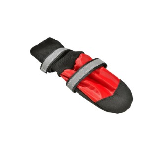 Chaussons sport rouge pour chien taille S 416969