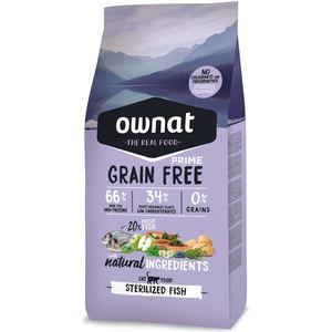 Croquettes pour chat stérilisé Grain Free Sterilized au poisson 1 kg 417013