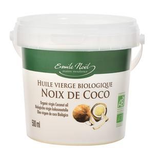 Huile de coco bio en seau de 50 cl 417422