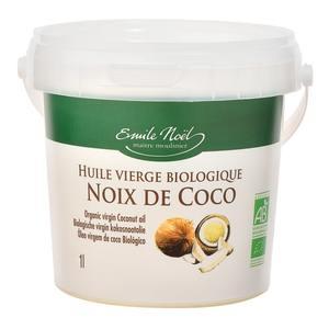 Huile de coco bio en seau de 1 L 417423
