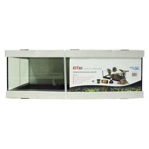 Kit terrarium tortue terra 80 de 80 x 35 x 25 cm 417531