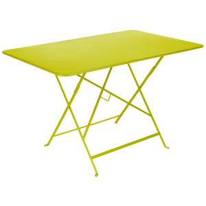Table pliante Bistro Fermob en acier coloris verveine 117 x 77 x 74 cm 417599