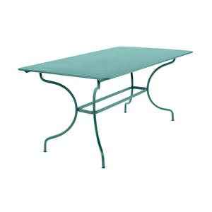 Table de jardin Manosque FERMOB Bleu lagune L160xl90xh74 417609