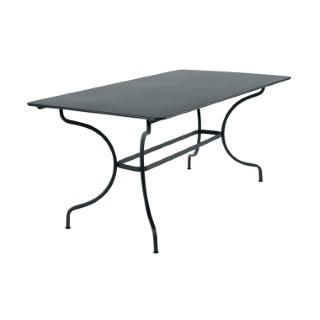 Table de jardin Manosque FERMOB Gris orage L160xl90xh74 417616