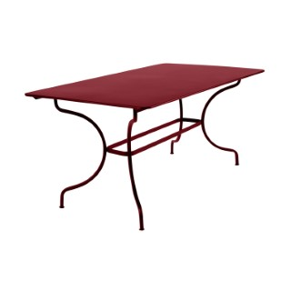 Table de jardin Manosque FERMOB piment L160xl90xh74 417621