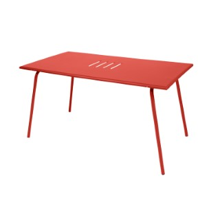Table de jardin Monceau FERMOB Capucine L146xl80xh74 417627