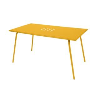 Table de jardin Monceau FERMOB Miel L146xl80xh74 417628