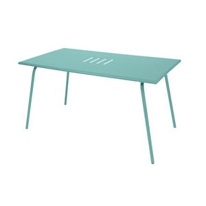 Table de jardin Monceau FERMOB Bleu lagune L146xl80xh74 417629