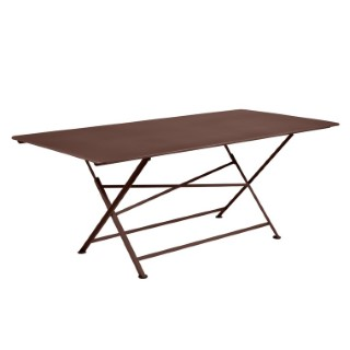 Table de jardin Cargo FERMOB Rouille L190xl90xh74 417679