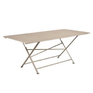 Table de jardin Cargo FERMOB Muscade L190xl90xh74 417681