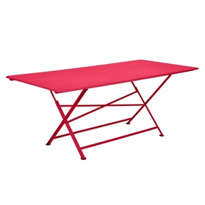 Table de jardin Cargo FERMOB Rose praline L190xl90xh74 417692