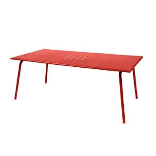 Table de jardin Monceau XL FERMOB Capucine L194xl94xh74 417701