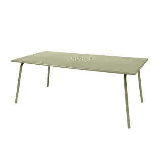 Table de jardin Monceau XL FERMOB Tilleul L194xl94xh74 417703