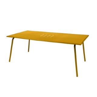 Table de jardin Monceau XL FERMOB Miel L194xl94xh74 417704