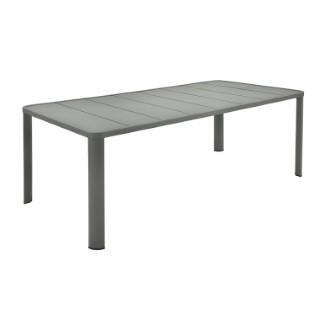 Table oleron en aluminium coloris romarin de 205 x 100 x 74 cm 417727
