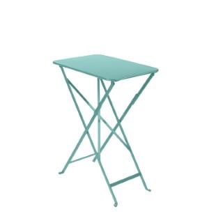 Table pliante Bistro Bleu lagune 417752