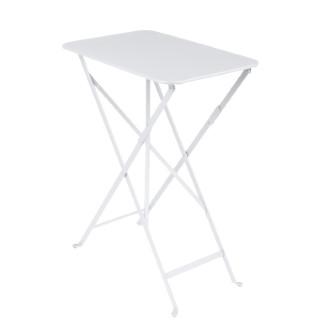 Table pliante Bistro Blanc coton 417765