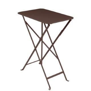 Table pliante Bistro Rouille 417766