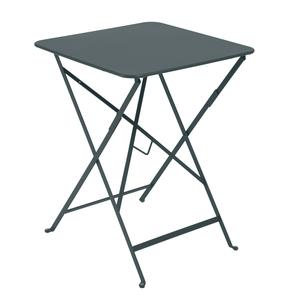Table carrée pliante Bistro Gris orage 417771
