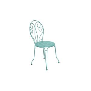 Chaise de jardin Montmartre Fermob couleur Bleu lagune 417788