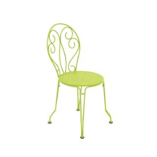 Chaise de jardin Montmartre Fermob couleur Verveine 417798
