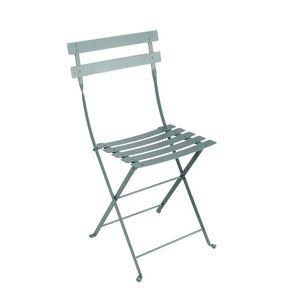 Chaise pliante Bistro Fermob coloris Gris orage 417805