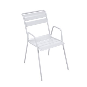 Fauteuil Monceau coloris blanc coton Fermob 417885