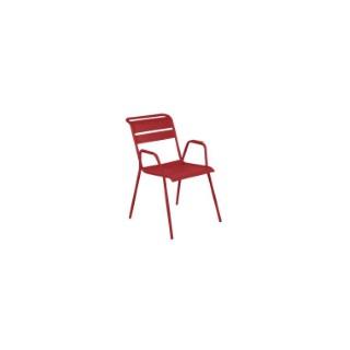 Fauteuil Monceau XL coloris piment Fermob 417903