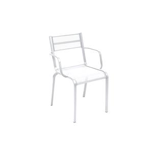 Fauteuil Oléron Muscade Blanc coton 417918
