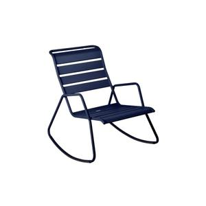 Rocking chair Monceau bleu abysse 417965