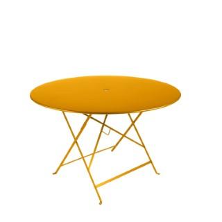 Table de jardin ronde pliante Bistro FERMOB miel 117 x 74 cm 418071