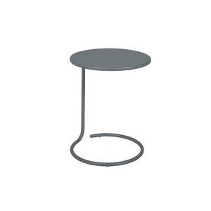 Table basse déportée coolside gris orage de Ø 42 x 53 cm 418107