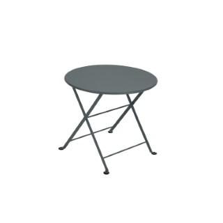 Table basse Tom Pouce Gris orage 55 x 49 cm 418159