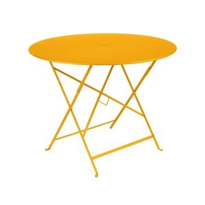 Table de jardin ronde pliante Bistro FERMOB miel 96 x h 74 cm 418196