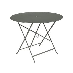 Table de jardin ronde pliante Bistro FERMOB bleu abysse 96 x h 74 cm 418202
