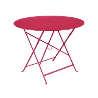Table de jardin ronde pliante Bistro FERMOB rose praline 96 x h 74 cm 418205
