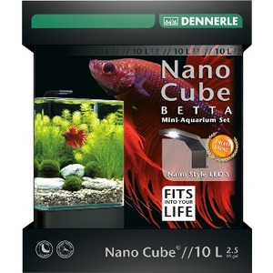 Nano Betta Cube 10 L Style Led S L21,5xP21,5xH26 cm 418241