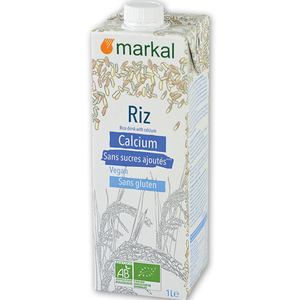 Boisson riz calcium bio en brique de 1 l 418304