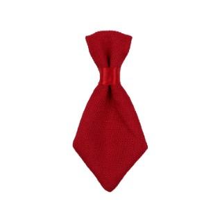 Cravate de Noël pour chien et chat rouge jersey Wouapy – 7 x 13 cm 419270