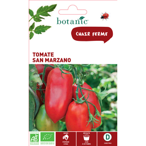Graines de Tomate San Marzano bio en sachet 419346